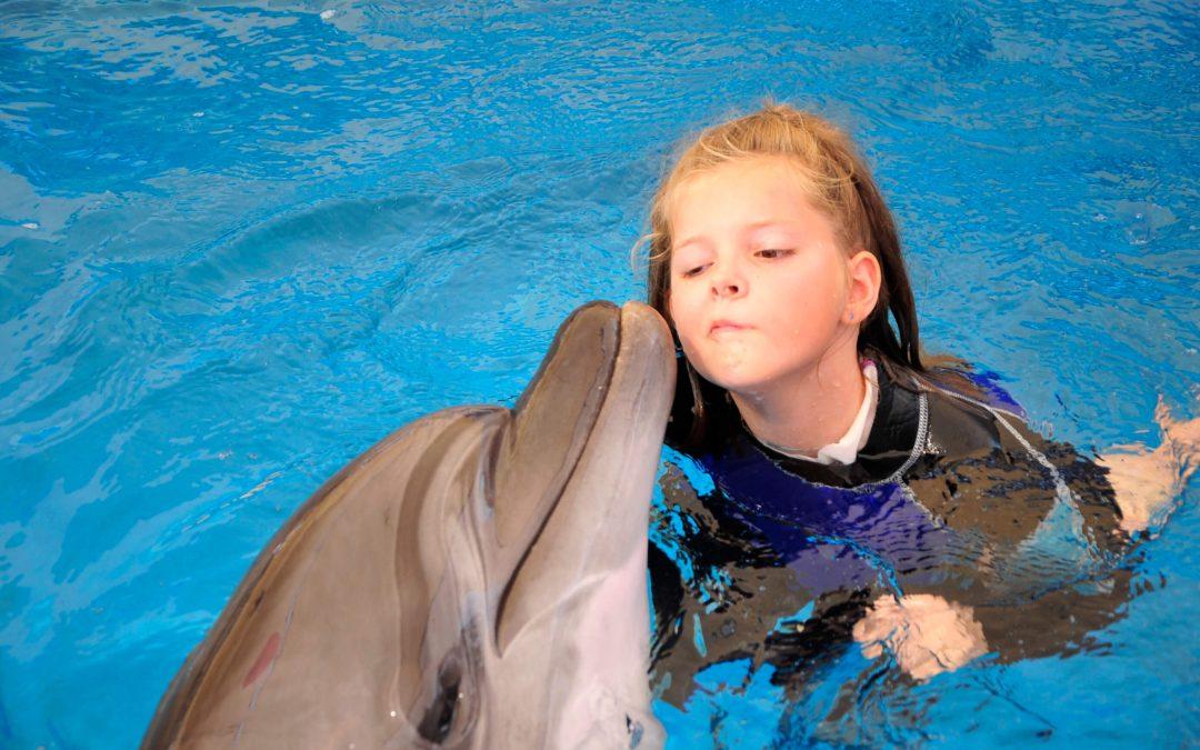 Delfintherapie für Vivian