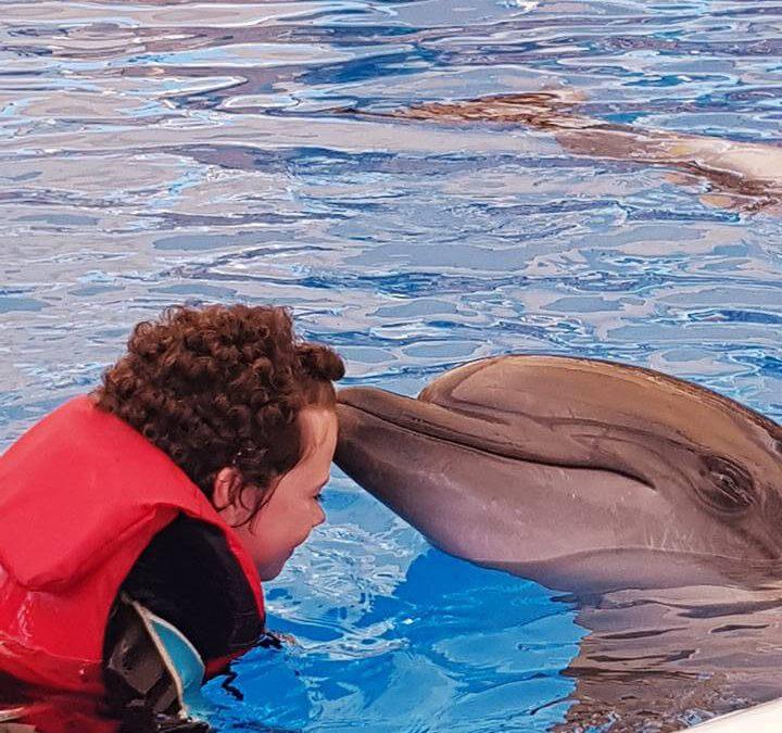 Delfintherapie für Mia-Marie