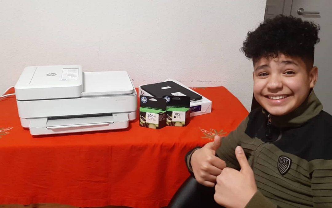 Drucker für die Schularbeiten