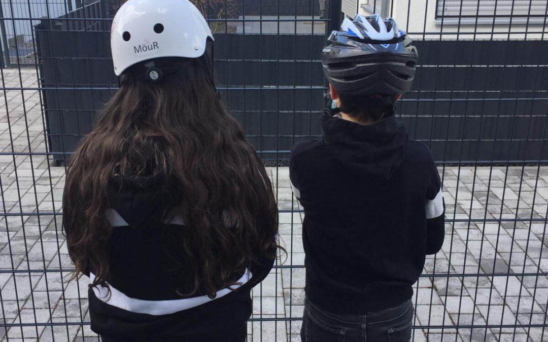Fahrradhelme für mehr Bewegung